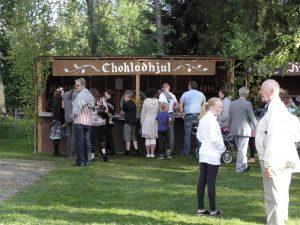 Midsommar 2009 - chokladhjul