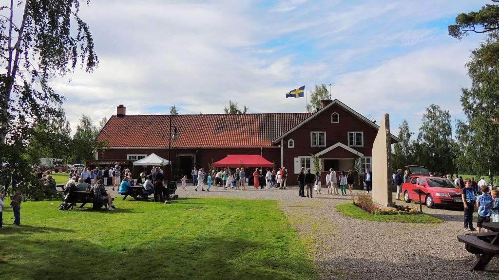 Huvudgården med Närkestenen