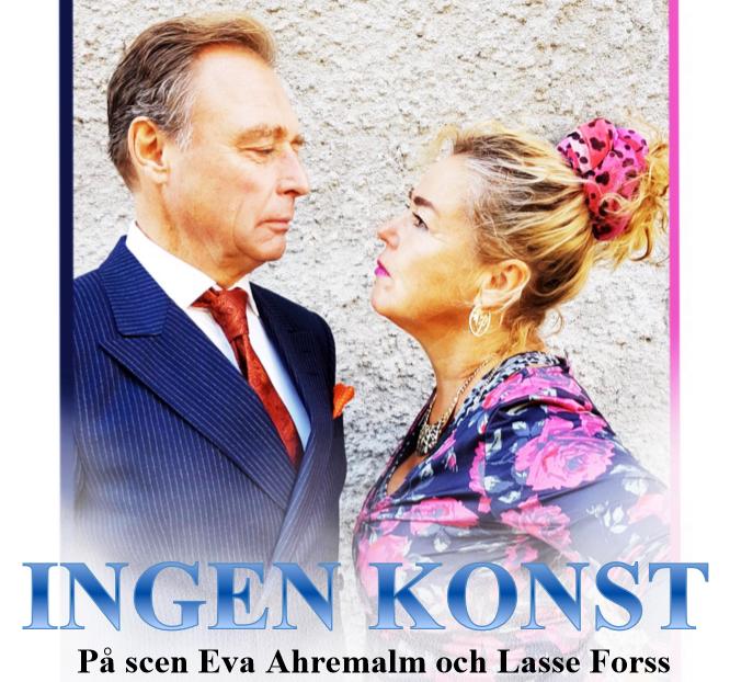 """Teater """"Ingen Konst"""" 15/3 kl 15:00"""